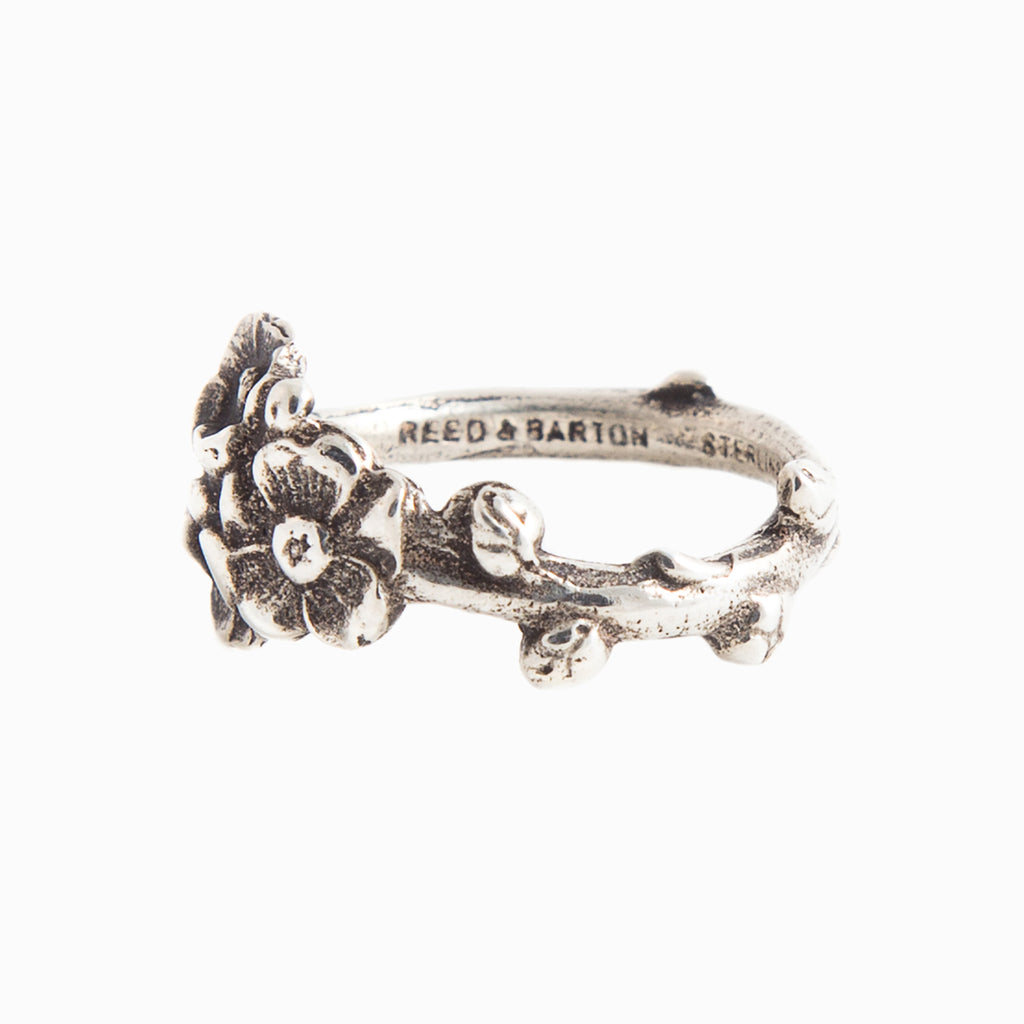 Apple Blossom Spoon Ring