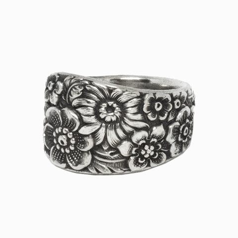 Bouquet Spoon Ring