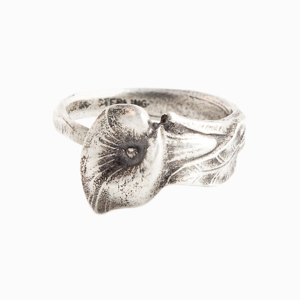 Calla Lily Spoon Ring