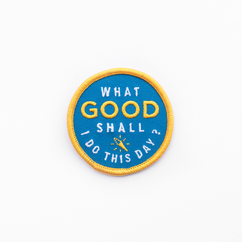 Do Good Patch