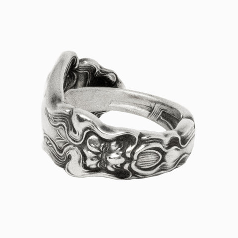 Faces Spoon Ring