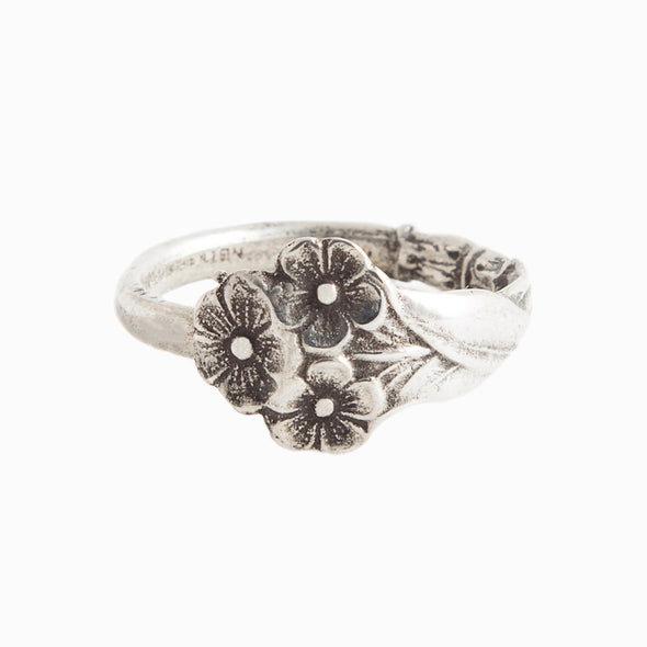 Forget Me Not Spoon Ring