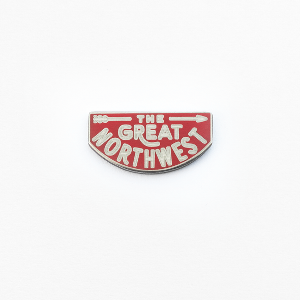 The Great Northwest Enamel Pin