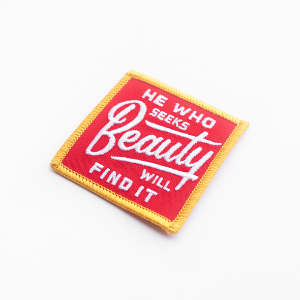 He Who Seeks Beauty Patch