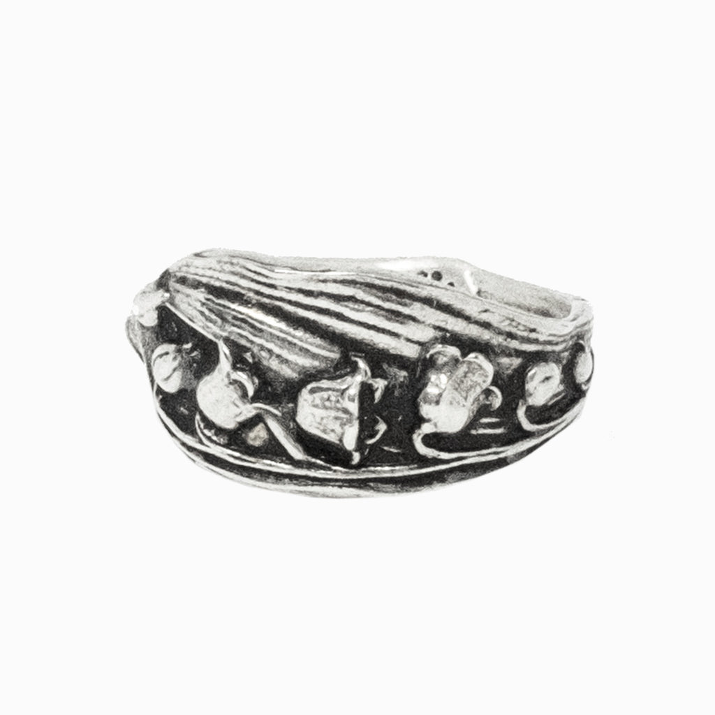 Lily of the Valley Spoon Ring
