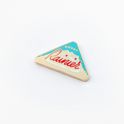 Mount Rainier Enamel Pin