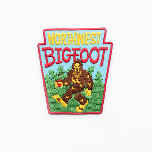 Northwest Bigfoot Patch