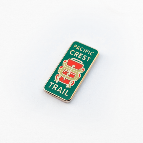 Pacific Crest Trail Enamel Pin