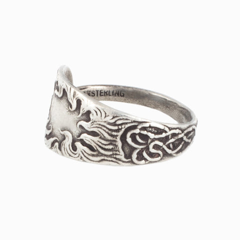 Ring of Fire Spoon Ring