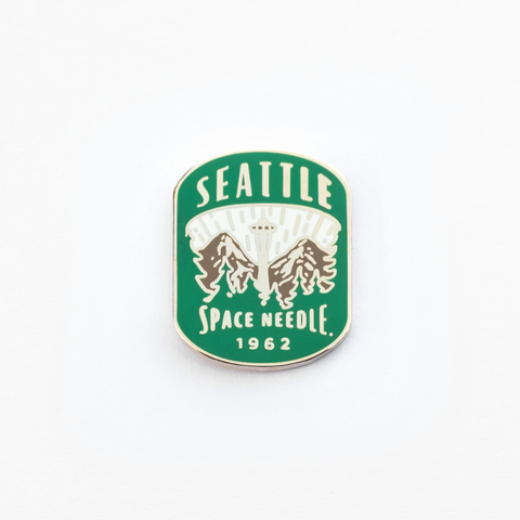 Space Needle Enamel Pin