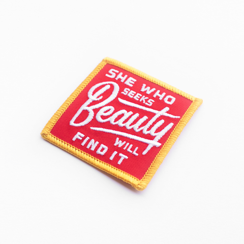 She Who Seeks Beauty Patch