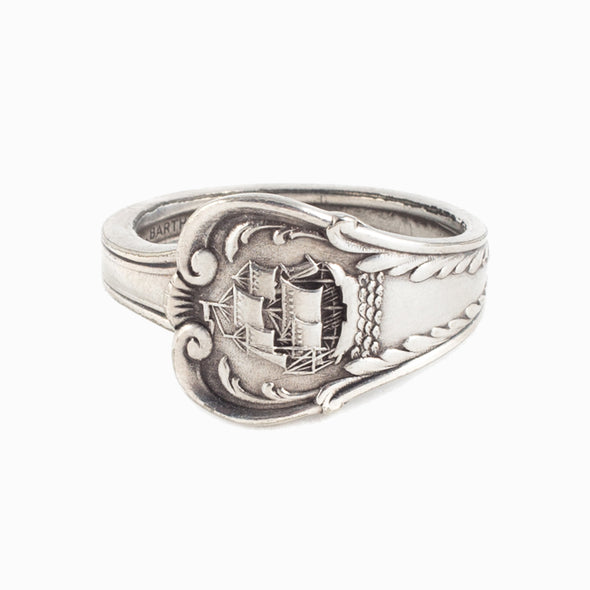 Ship Spoon Ring