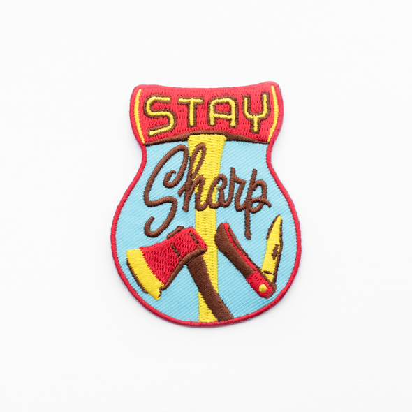 Stay Sharp Patch