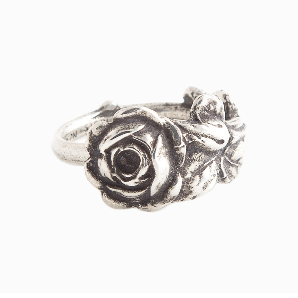 Tea Rose Spoon Ring