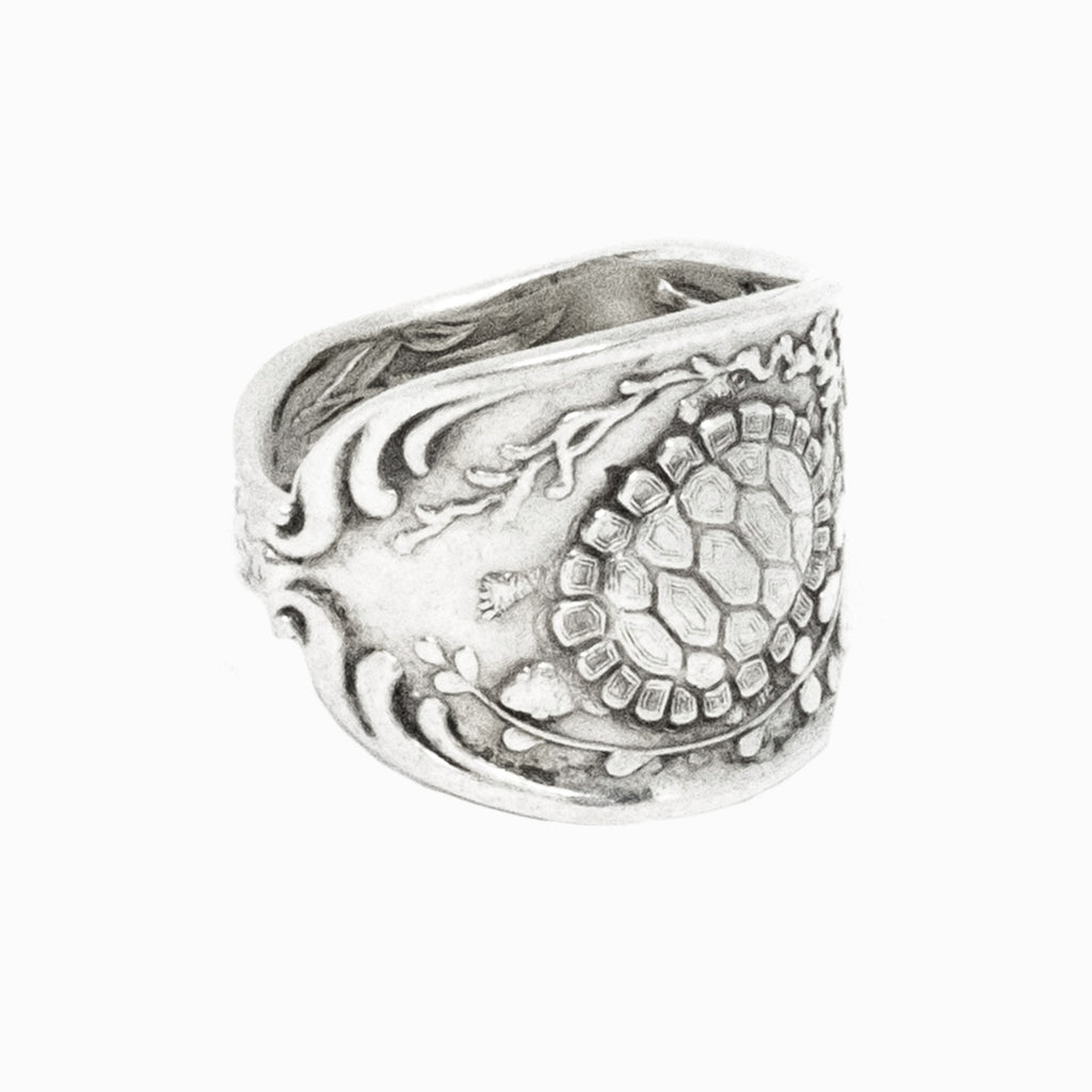 Turtle Spoon Ring