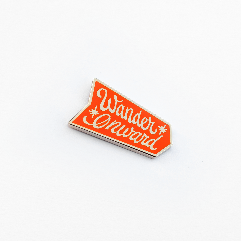 Wander Onward Enamel Pin