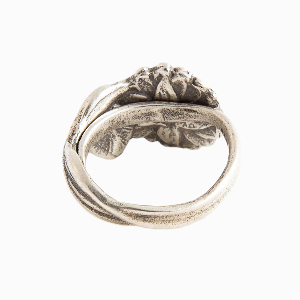 Water Lily Spoon Ring