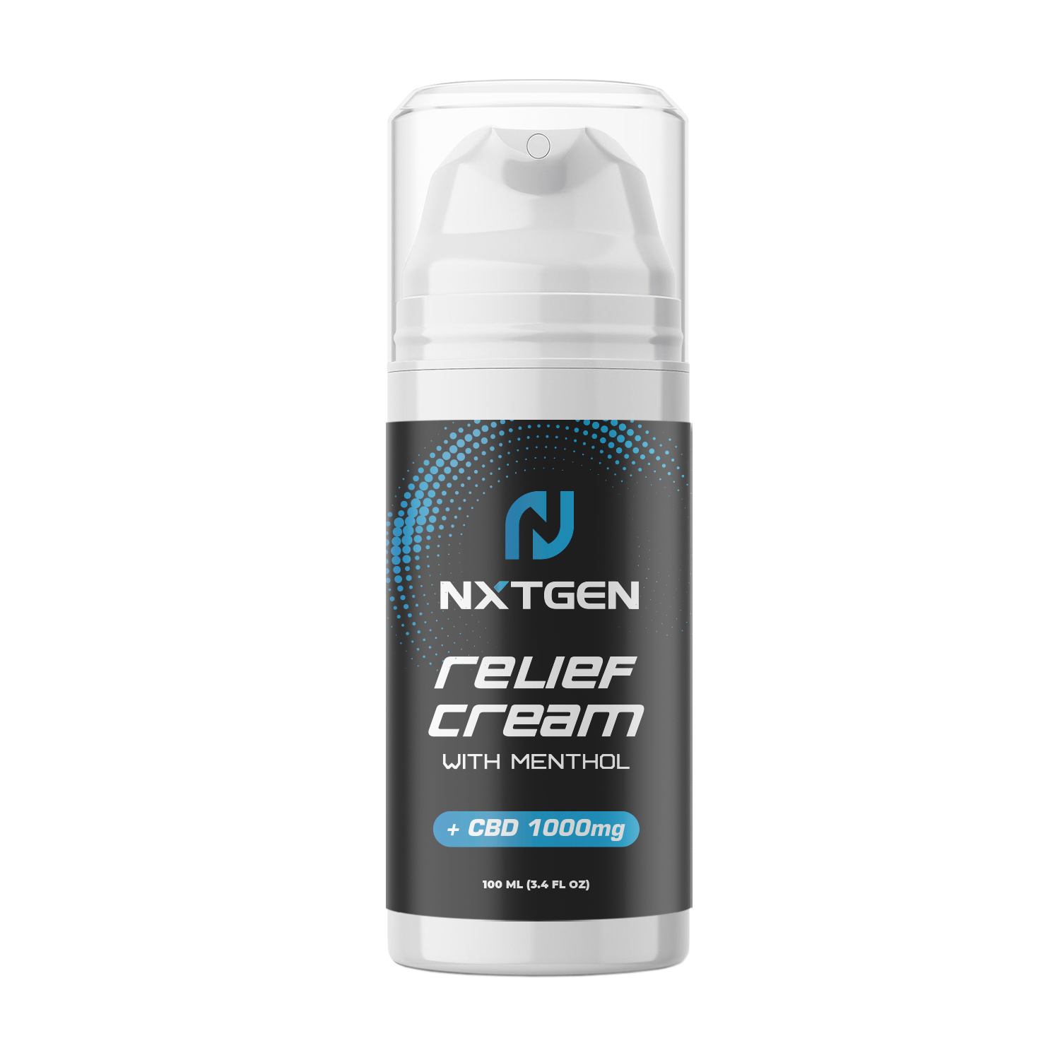 Sports Relief Cream NanoZorb™ Broad Spectrum | CBD:CBG 1000mg