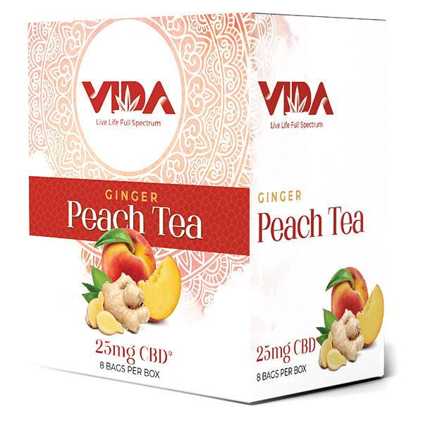 CBD Tea - Ginger Peach