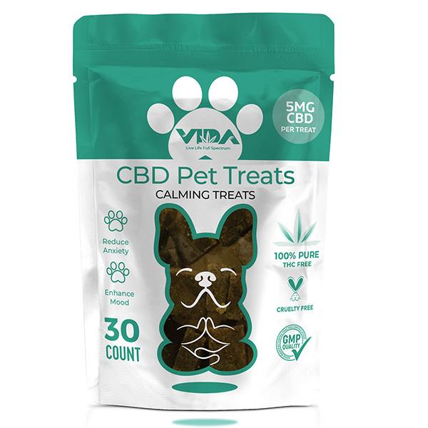 Happy Pets soft chews Broad Spectrum CBD Calming Treats