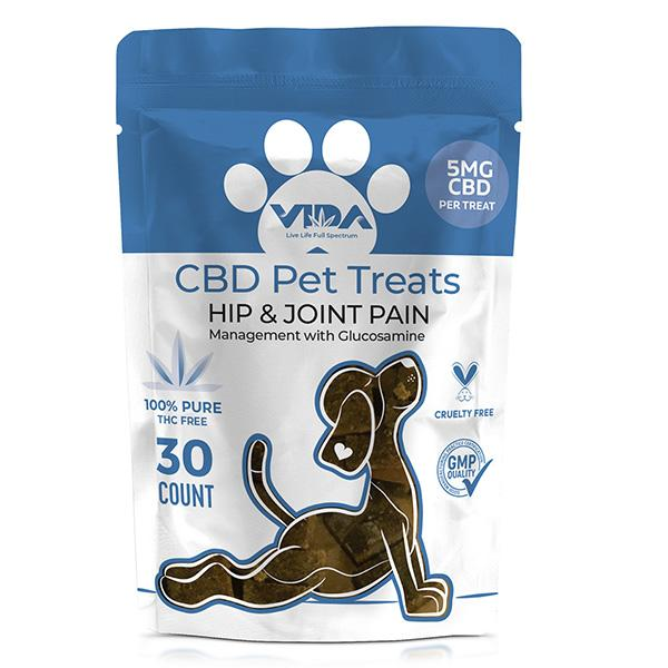 Happy Pets soft chews Broad Spectrum CBD Hip & Joint Treats