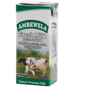 AMBEWELA FRESH MILK FULL CREAM 1000ML - Maharaja Super Sri Lanka Online Grocery Shopping