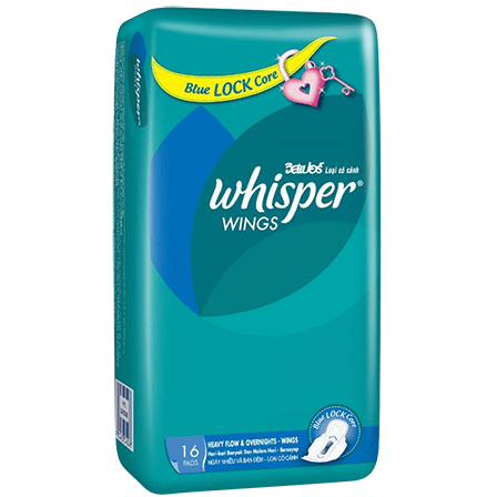 BLUE LOCK CORE WHISPER WINGS 16 PADS - Maharaja Super Sri Lanka Online Grocery Shopping