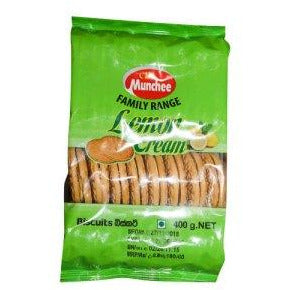 CBL MUNCHEE FAMILY RANGE LEMON CREAM 400G - Maharaja Super Sri Lanka Online Grocery Shopping