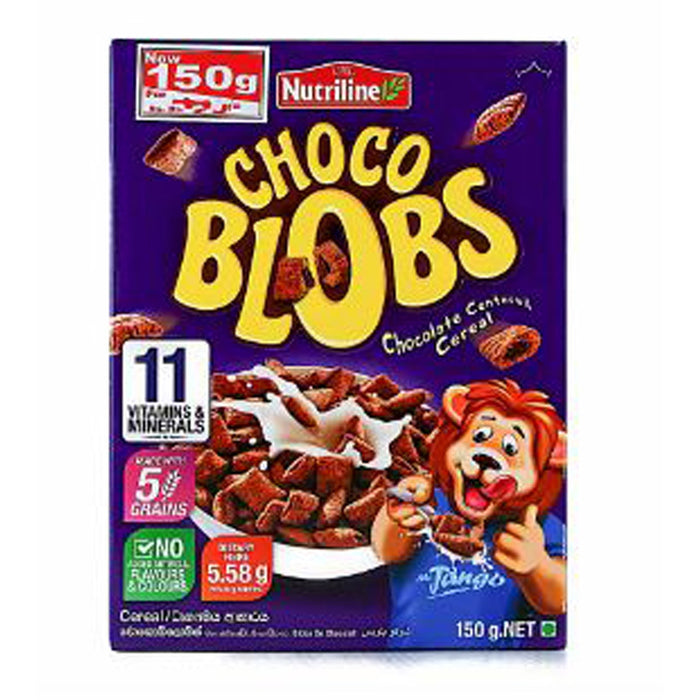 CBL NUTRILINE CHOCO BLOBS 150G - Maharaja Super Sri Lanka Online Grocery Shopping