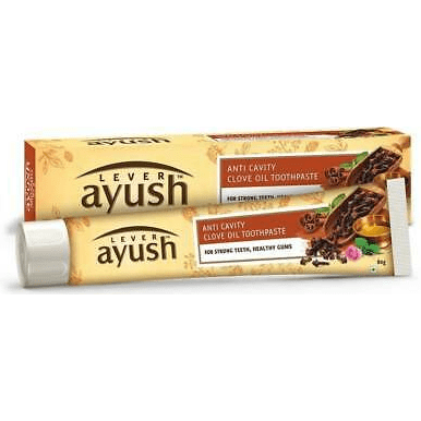 LEVER AYUSH ANTI CAVITY CLOVE OIL TOOTHPASTE 70G - Maharaja Super Sri Lanka Online Grocery Shopping