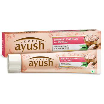 LEVER AYUSH ROCK SALT TOOTH PASTE 120G - Maharaja Super Sri Lanka Online Grocery Shopping