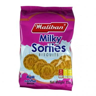 MALIBAN MILKY SORTIES BISCUITS 325G - Maharaja Super Sri Lanka Online Grocery Shopping