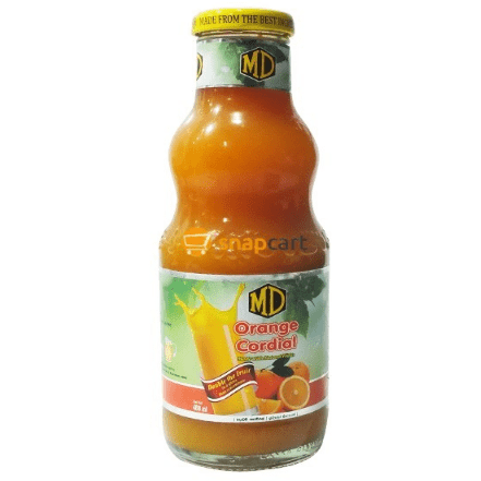 MD ORANGE CORDIAL 400ML - Maharaja Super Sri Lanka Online Grocery Shopping