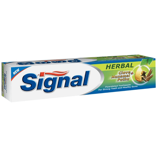 SIGNAL TOOTHPASTE HERBAL 70G - Maharaja Super Sri Lanka Online Grocery Shopping