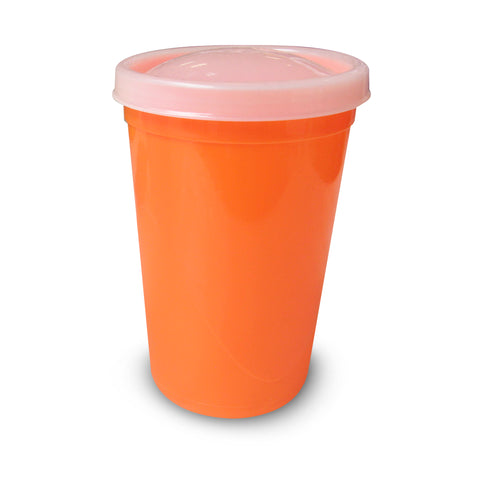 VASO JUNIOR C/TAPA LISA 296 ML (10 fl oz)