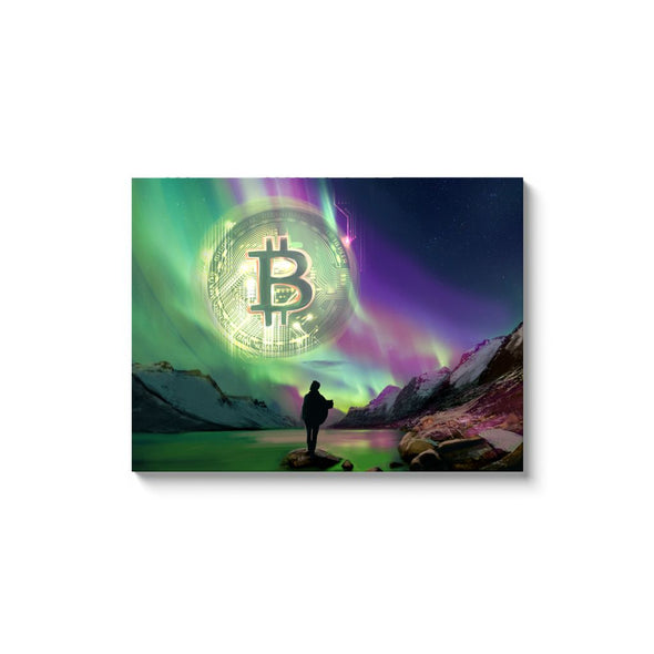 bitcoin cryptocurrency wall art and artwork for sale with free shipping
