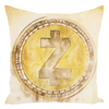 zcash decorative throw pillow for sale