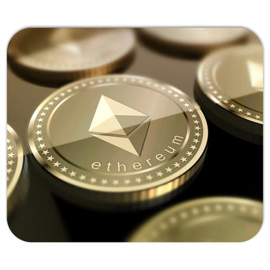 ethereum eth coin mousepads mouse pad for sale