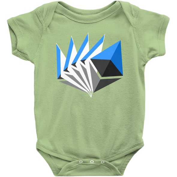 green ethereum eth baby infant newborn onesies for sale