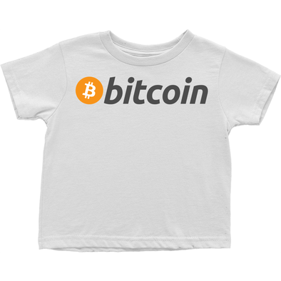 bitcoin btc toddler child tee shirt and t-shirts for sale