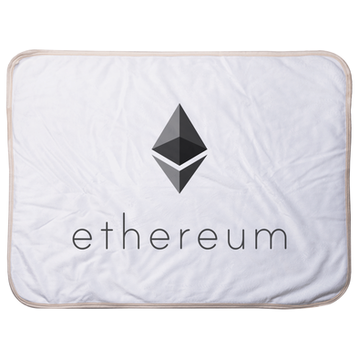 ethereum eth super soft infant baby sherpa blanket for sale