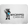 mycryptocanvas logo memory foam bath mat for sale