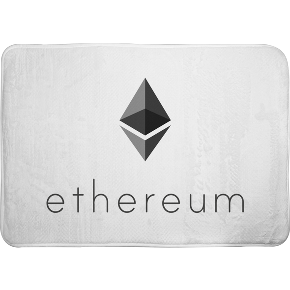 ethereum eth memory foam soft bath mat for sale