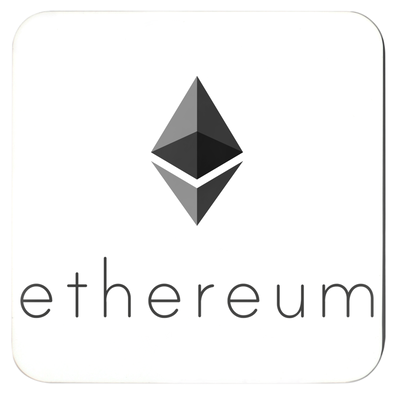 ethereum eth drink and beverage coasters for sale