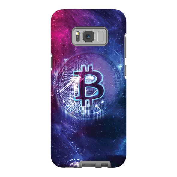 Samsung galaxy 10 s bitcoin logo phone case for sale