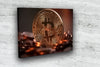 MyCryptoCanvas bitcoin canvas wall art artwork for sale Conqueror