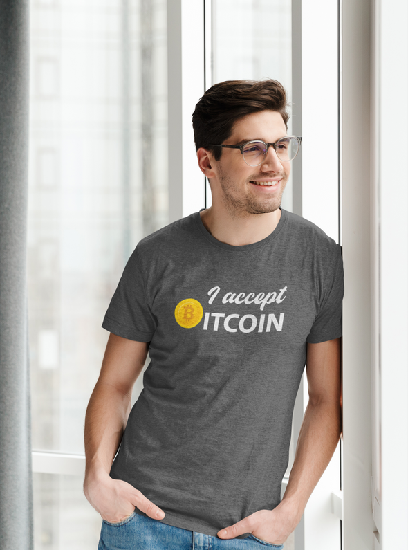Men's I Accept Bitcoin