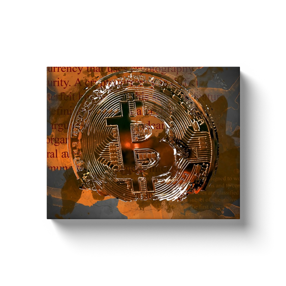 bitcoin btc canvas wall artwork map and gifts for sale