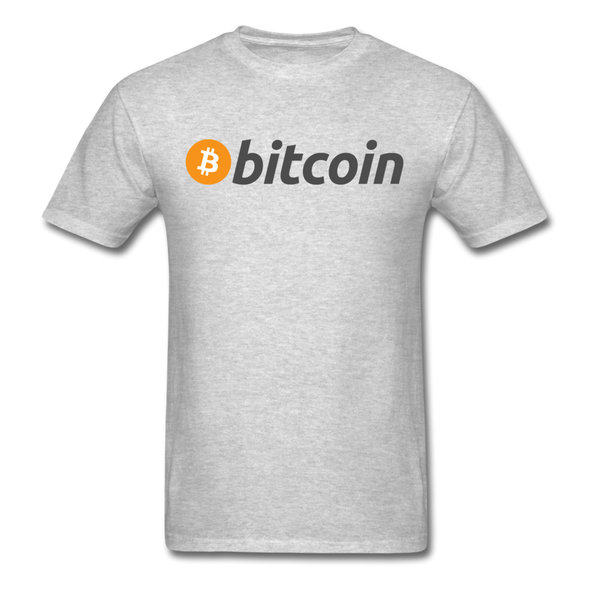 Bitcoin T-Shirt - heather gray