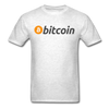 Men's Bitcoin T-Shirt - light heather gray